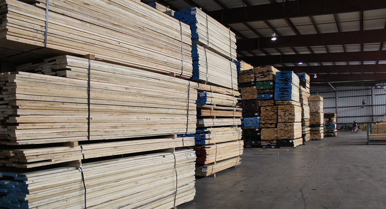 Wholesale lumber supplier